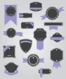 Premium Quality Labels with retro design . Stock Image
