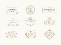 Premium quality labels set Stock Images