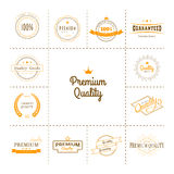 Premium quality labels set Stock Image