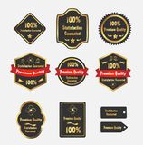 Premium quality Labels Royalty Free Stock Photography