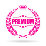 Premium quality laurel vector icon Stock Photos