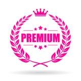 Premium quality laurel vector icon. Premium quality laurel wreath vector icon Stock Photos