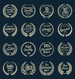 Premium quality laurel wreath, collection Royalty Free Stock Image
