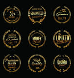 Premium quality laurel wreath, collection Royalty Free Stock Photos