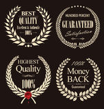 Premium quality laurel wreath, set Royalty Free Stock Photography