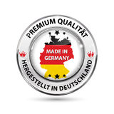 Premium Quality. Made in Germany Stock Images