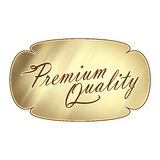 Premium Quality Plaque Text Wording Stock Images