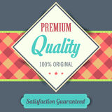 Premium Quality poster, retro vintage design Royalty Free Stock Images