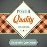 Premium Quality poster, retro vintage design Stock Image