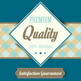 Premium Quality poster, retro vintage design Royalty Free Stock Photos