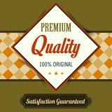 Premium Quality poster, retro vintage design Stock Photo