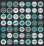 Premium Quality retro badges collection. Premium Quality retro vintage badges collection Royalty Free Stock Photography