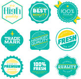 Retro Guaranteed Label Vector Stock Image