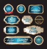 Premium quality retro Label. Illustration Royalty Free Stock Images