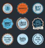 Premium Quality retro Label Stock Photo
