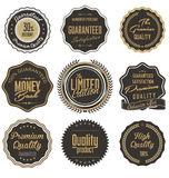 Premium Quality retro Labels Royalty Free Stock Photos