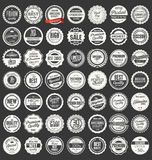Premium, quality retro labels collection Royalty Free Stock Photos