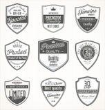 Premium quality retro vintage badges Stock Image