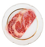 Premium quality ribeye steak Royalty Free Stock Photography