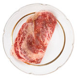Premium quality ribeye steak Royalty Free Stock Photo