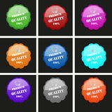 Premium quality rosettes  Royalty Free Stock Photography
