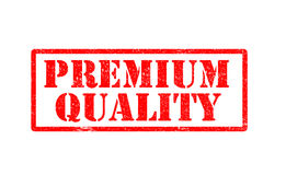 Premium quality rubber stamp on white background. Stock Image