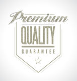 Premium quality seal banner illustration design Stock Photos