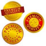 Premium Quality Seals royalty free illustration