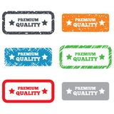 Premium quality sign icon. Special offer symbol Stock Image