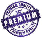 Premium quality stamp Stock Image