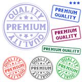 Premium quality stamp Stock Photography