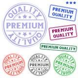 Premium quality stamp stock illustration