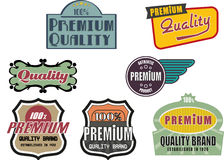 Premium quality stamps Stock Photography