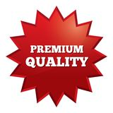 Premium quality star. Special offer vector tag. Royalty Free Stock Photos