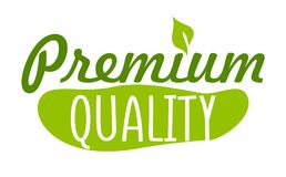 Premium quality sticker. Vector illustration for graphic and web design Stock Photos