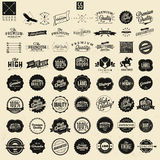 Premium Quality Stickers And Element labels Royalty Free Stock Photography