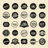 Premium Quality Stickers And Element labels Stock Photos