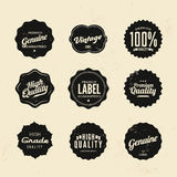 Premium Quality Stickers And Element labels Stock Photography