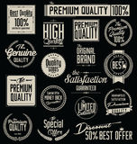 Premium Quality Stickers Royalty Free Stock Photo
