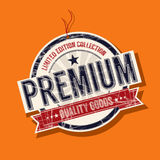 Premium quality tag Stock Images