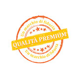 Premium Quality, Trusted brand Italian stamp for print Stock Photography