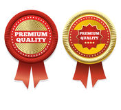 Premium Quality Vector Label. Stock Images