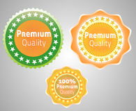 Premium quality vector label. Royalty Free Stock Photos