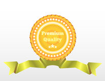 Premium Quality vector label. Royalty Free Stock Images