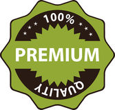 Premium quality Vector. Premium quality, 100% percent - Banner and poster design  illustration Stock Image