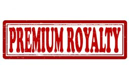 Premium royalty. Stamp with text premium royalty inside,  illustration Royalty Free Stock Images