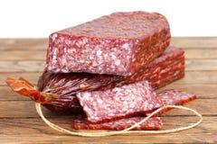 Premium salami Royalty Free Stock Image