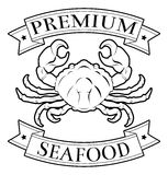 Premium seafood icon Stock Images