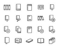 Premium set of books line icons. Simple pictograms pack. Stroke  illustration on a white background. Modern outline style icons collection Stock Photos