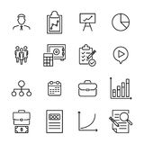 Premium set of business line icons. Simple pictograms pack. Stroke vector illustration on a white background. Modern outline style icons collection Stock Photo